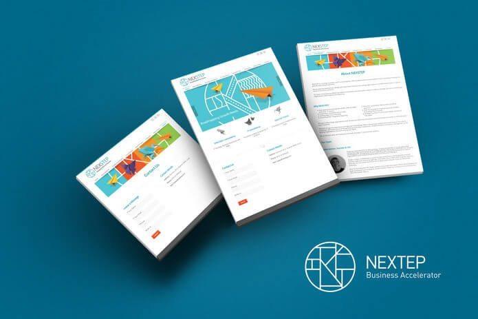 עיצוב ממשק משתמש מ NEXTEP
