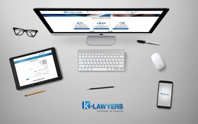 עיצוב ממשק משתמש עבור LAWYERS