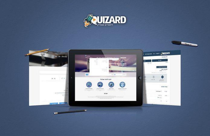 בנייה וקידום אתר QUIZARD